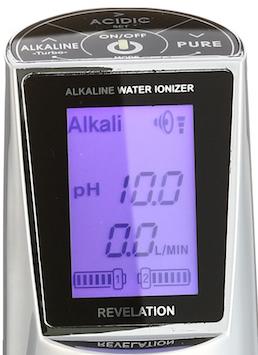 AquaVolta-EOS-Revelation-Faucet-Wasserionisierer-Display